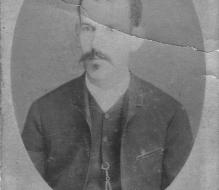 erônimo José da Costa Lins, the writer's grandfather and husband of Joana Carolina - Vitória, date unknown, approximately 1883